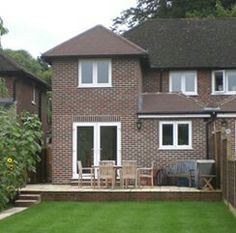 2 storey rear extension & side extension after garage conversion | Extension | Pinterest ...
