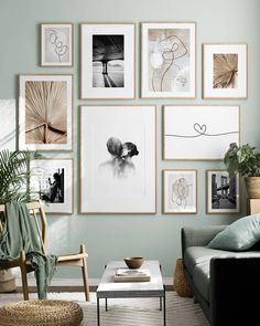 Find inspiration for creating a picture wall of posters and art prints. Endless inspiration for gallery walls and inspiring decor. Create a gallery wall with framed art from Desenio. Living Room Designs, Living Room Decor, Bedroom Decor, Wall Decor, Artwork For Bedroom, Living Room Walls, Bedroom Posters, Room Art, Wall Mural