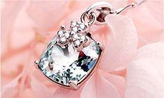 Light blue Austria Crystal necklace