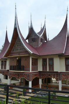 Minangkabau's Architecture - West Sumatra, Indonesia