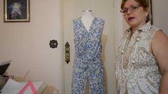 DIY : Vestido com drapeado torcido na frente - Aula 52