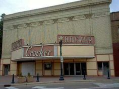 Crocker theater n- spent some time here while growing up