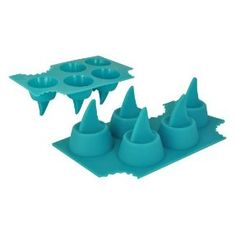 Sharks Fin Ice Cube Tray, perfect for a 2012 San Jose Sharks playoff party!!