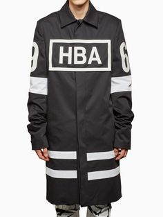 Twill box logo duster from S/S2016 HBA Hood By Air