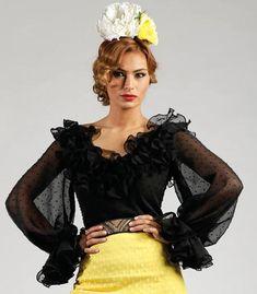 Roal Blusa Diana super Trajes de Flamenca 2017 | Tamara Flamenco