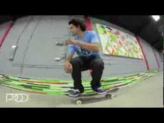 Paul Rodriguez nollie crook nollie late front foot flip out