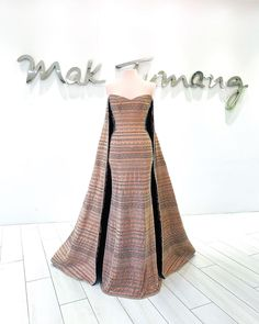 """Mak Tumang on Instagram: """"LuzViMinda"""" Grey Fashion, Fashion Models, Ball Gown Dresses, Dress Up, Passion For Fashion, Evening Gowns, Party Dress, Formal Dresses, Mak Tumang"""