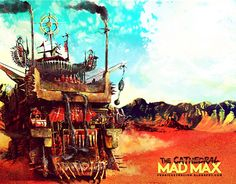"""Check out new work on my @Behance portfolio: """"MAD MAX la catedral del yermo"""" http://on.be.net/1HIxnNk"""