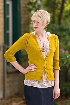 On the huge 'to knit ' pile... Love the raglan sleeves. Anything knit in one piece is okay by me..