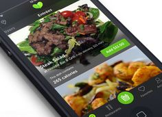 The Zesty app delivers healthy food only.
