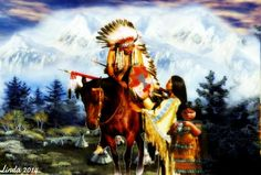 ANIMATED NATIVE AMERICANS GIFS photo: Grey Eagle's Family GreyEaglesFamily.jpg
