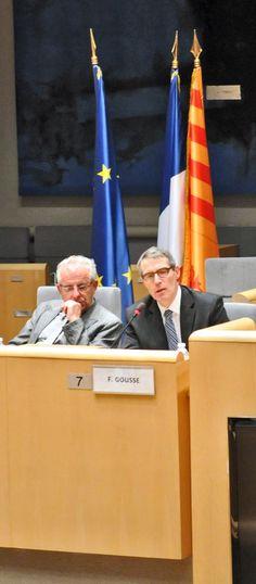 François Goussé, DRAAF Provence-Alpes-Côte d'Azur répond à une question venant de l'hémicycle à propos de la loi d'Avenir Agricole.
