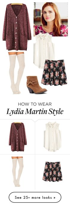 """Lydia Martin inspired"" by fashionista-diva-983 on Polyvore featuring Free People, WithChic and Sole Society"