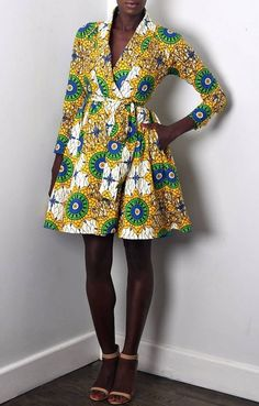 african style clothing African print dresses can be styled in a plethora of ways. Ankara, Kente, & Dashiki are well known prints. See over 50 of the best African print dresses. African Fashion Designers, African Inspired Fashion, African Print Fashion, Africa Fashion, African Print Dresses, African Dresses For Women, African Wear, African Style, African Prints