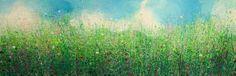 "Saatchi Art Artist Sandy Dooley; Painting, ""Green Green Grasses"" #art"