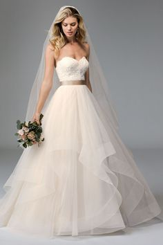 @watterswtoo Wtoo Style 17713 Rowena Wedding Gown                                                                                                                                                                                 More