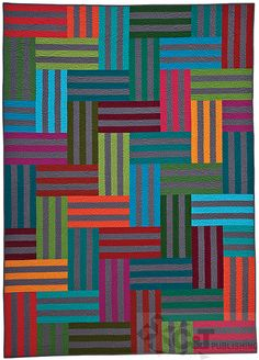 Colorful Quilts for Fabric Lovers by C&T Publishing, via Flickr