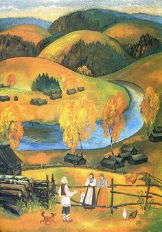 Сказочные Иллюстрации: Сказки - Уральские Сказы П.Бажова