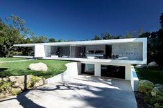 The Modern Glass Pavilion design in Montecito by Steve Hermann Glass Pavilion, Pavilion Design, Residential Architecture, Contemporary Architecture, Architecture Design, Contemporary Houses, Architecture Awards, Sustainable Architecture, Contemporary Interior