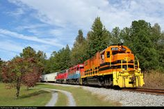 RailPictures.Net Photo: EARY 2014 Eastern Alabama Railway EMD GP38-2 at Emauhee, Alabama by Bradley Bates