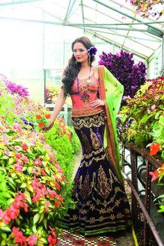 Ekta Solanki Designer Indian Bridal Collection Lehngas