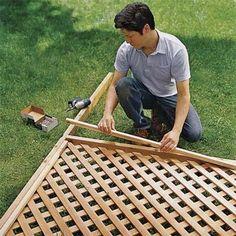 How To Build A Trellis