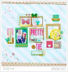 Crate Paper | Adrienne Alvis | 2 Pretty Girls @Matt Valk Chuah Park