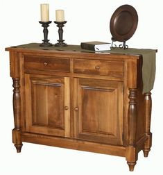 Amish Harvest 2-door Buffet The Harvest is built to house special dining pieces that make your family dinners complete. Custom built in solid wood and Amish made in America. #buffet #diningstorage