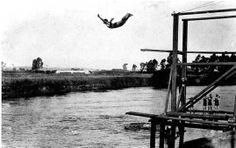 quando podia mergulho no Tietê.