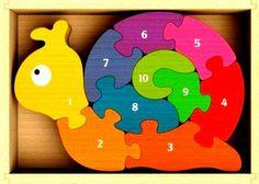 Snail puzzle (117 pieces)