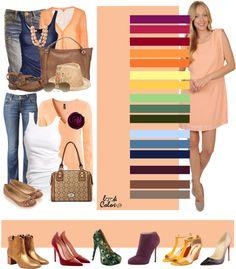 Colour Combinations Fashion, Color Combinations For Clothes, Fashion Colours, Colorful Fashion, Color Combos, Cute Dresses For Party, Color Me Beautiful, Color Pairing, Color Balance