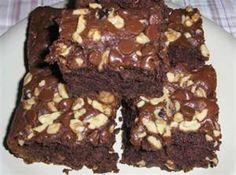 Amish friendship bread Chocolate Brownies
