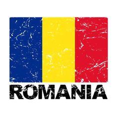 Vintage Labels, Vintage Postcards, Romanian Flag, Political Events, National Flag, First Nations, Postcard Size, Paper Texture, Vintage Designs