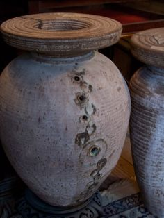 beautiful pots.