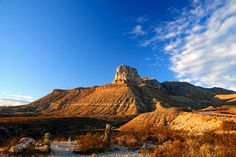 Guadalupe Mountains National Park Photo - El Capitan Mountain at ...
