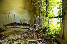 """El Gobierno de Renzi subasta islas y palacios para reducir la deuda pública. Entre ellas Poveglia, una misteriosa isla con un hospital abandonado. Vecinos de Venecia han empezado una colecta para que no se convierta en """"otro hotel de lujo""""."""