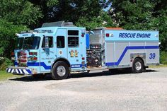 Youngstown Fire Company Westmoreland County, PA Rescue-Engine 39 2011 Sutphen 2,000/750 Pumper.