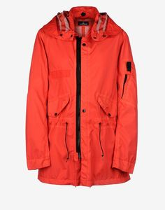 40101 FISHTAIL PARKA _ PULVER R 3L Mid Length Jacket Stone Island Shadow Project Men -Stone Island Online Store