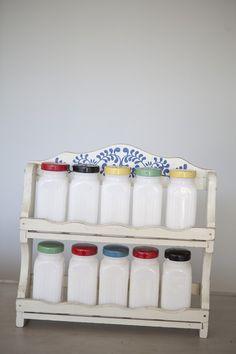 vintage spice rack