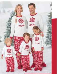 7f6063d295 It s like the stick figure car decals of pajamas... Family Pjs