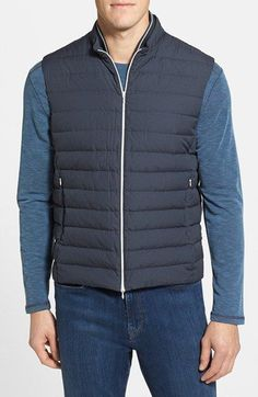 Herno Quilted Down Vest available at #Nordstrom