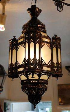 照明・モロッコランプ > モロッコガラスランプ 【中型】 > ガラスランプ【パレスM】フロスト