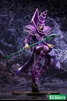 Kotobukiya Yu-Gi-Oh Dark Magician Duel with Destiny ArtFX J Statue (bestseller) [ I shall own this one day ]