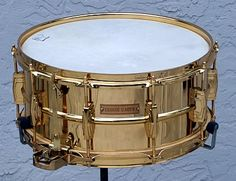 Ludwig Gold Super Sensitive. Only like four or five were made--the first one for Ringo Starr, and others for Dick Schory, Bobby Christian, Joe Morello, and this one--for George Gaber. Sweet!