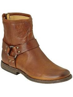 Frye Phillip Harness, in cognac or maybe saddle?