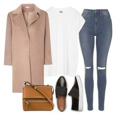 """""""Untitled #457"""" by kwasheretro on Polyvore featuring Topshop, Oak, Glamorous and Givenchy"""