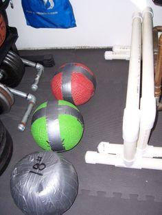 DIY crossfit equipment, lots of great ideas!