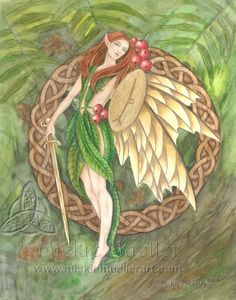Rowan Tree Fairy Limited Edition Print
