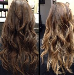 Brown with lighter highlights