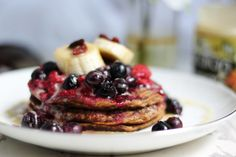 Banana pancakes #healthy #dessert #recipe #banana #pancakes #breakfast